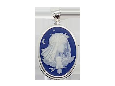 Truly Venusian Edwardian Downton Abbey Jewelry Sterling Silver Champagne Marcasite Art Nouveau plique-a-jour Enamel Cottingley Fairy Brooch